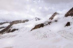 Jungfrau szczyt Fotografia Royalty Free