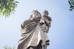 Jungfrau und Kind Stockfoto