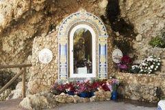 Jungfrau von Carmen, Rincon de la Victoria, Màlaga Spanien lizenzfreies stockfoto