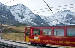 jungfraubahn Стоковые Изображения