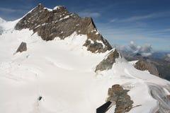Jungfrauberg, Zwitserse Apls, Switzeland Royalty-vrije Stock Afbeelding