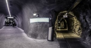Jungfraujoch驻地瑞士 免版税库存图片