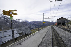 Jungfraujoch Zdjęcie Stock