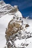 Jungfraujoch Obraz Stock