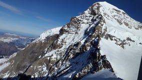 Jungfraujoch Imagen de archivo libre de regalías