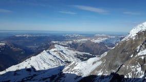 Jungfraujoch Photo libre de droits
