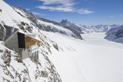 Jungfraujoch Foto de Stock Royalty Free