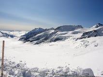 Jungfraujoch arkivfoto