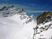 Jungfraujoch arkivfoton