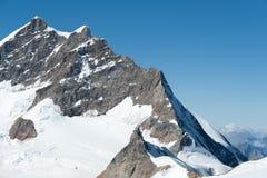 Jungfraujoch, alpes suíços Fotografia de Stock