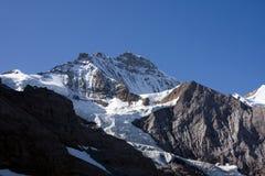 Jungfraujoch, alpi svizzere Fotografia Stock Libera da Diritti