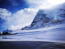 Jungfraujoch - cima del ‹del †di Europa Fotografia Stock Libera da Diritti