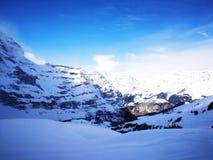Jungfraujoch - cima del ‹del †di Europa Immagine Stock Libera da Diritti