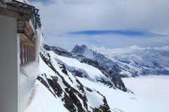 Jungfraujoch - cima di Europa, Svizzera Fotografia Stock Libera da Diritti