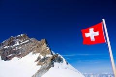 Jungfraujoch, die Schweiz Stockfotografie
