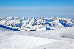 Jungfraujoch, die Schweiz Stockbild