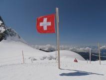Jungfraujoch die Schweiz Stockbild