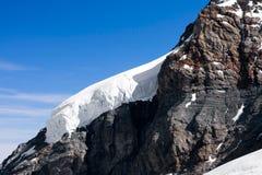 Jungfraujoch glacier, Switzerland Stock Photo