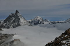 Jungfraujoch Mountain Royalty Free Stock Photo