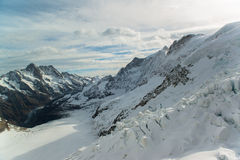 Jungfraujoch, Part of Swiss Alps Alpine Stock Images