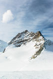 Jungfraujoch, Part of Swiss Alps Alpine Stock Photography