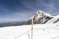 Jungfraujoch plateau, Switzerland Royalty Free Stock Photos