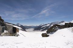 Jungfraujoch plateau, Switzerland Royalty Free Stock Photo