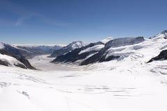 Jungfraujoch plateau, Switzerland Stock Photos