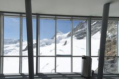 Jungfraujoch plateau, Switzerland Stock Image