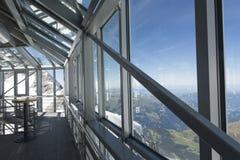 Jungfraujoch plateau, Switzerland Royalty Free Stock Photography