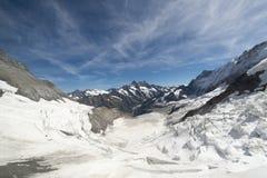 Jungfraujoch railway, Switzerland Royalty Free Stock Images