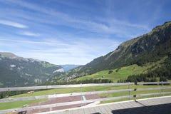 Jungfraujoch railway, Switzerland Stock Photo
