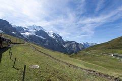 Jungfraujoch railway, Switzerland Royalty Free Stock Image