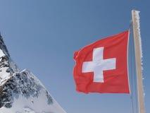 Jungfraujoch Schweitz Arkivbilder