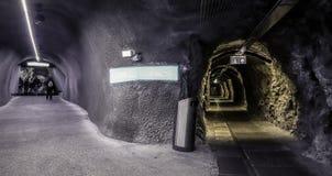 Jungfraujoch-Station die Schweiz lizenzfreie stockbilder