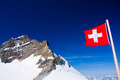 Jungfraujoch, Switzerland Stock Photography