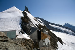 jungfraujoch Switzerland Fotografia Stock