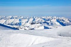Jungfraujoch, Switzerland. View from Jungfraujoch, Alps, Switzerland, Europe Stock Image
