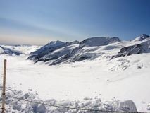 Jungfraujoch. Switzerland is an europe country. Switzerland is geographically divided between the Alps, the Swiss Plateau and the Jura, This photo is from Alps Stock Photo