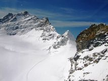 Jungfraujoch. Switzerland is an europe country. Switzerland is geographically divided between the Alps, the Swiss Plateau and the Jura, This photo is from Alps Stock Photos
