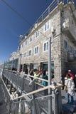 Jungfraujoch weather station, Switzerland Royalty Free Stock Photography
