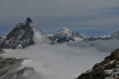 Jungfraujochberg Royalty-vrije Stock Foto