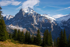 Jungfraw massive, Swiss Alps Stock Images