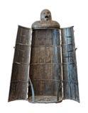 jungfru- medeltida tortyr för utklippapparatjärn Arkivbild