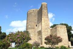 _ _ Jungfru- torn Arkivbild