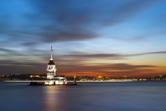 Jungfru- torn för ` s Royaltyfria Foton