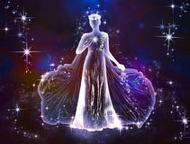 Jungfrujungfru Royaltyfri Bild
