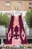 Jungfrulig del Rosario i Torrejon de Ardoz Arkivfoton