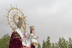 Jungfrulig del Rosario i Torrejon de Ardoz Royaltyfri Fotografi