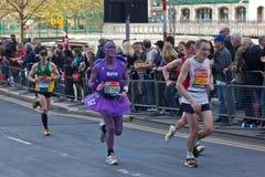 Jungfrulig London maraton 2012 Arkivbild